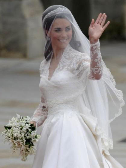 Artikel Name: Prinz Wilhelm &Prinzessin Kate Hochzeit Brautkleid ...