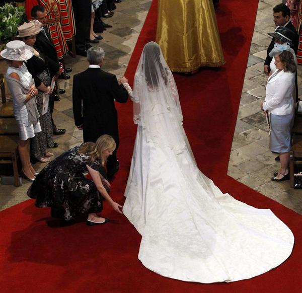 Prinz Wilhelm &Prinzessin Kate Hochzeit Brautkleid  eBay